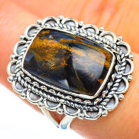 Pietersite 925 Sterling Silver Ring Size 8 Ana Co Jewelry R45106F