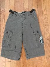Mini Boden cargo shorts, size 11Y