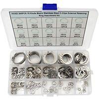 1//4 X 9//16 X 7//16 Oval Head SEMI-Tubular Steel Rivets ZINC Plated/_1000 PCS Box
