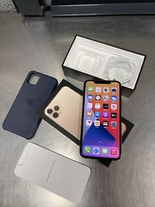 Apple iPhone 11 Pro Max 64GB Gold Unlocked A2218 Warranty 11/21 - No Reserve