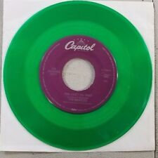 COLORED GREEN THE BEATLES CANT BUY ME LOVE VINYL 45 RECORD RE14