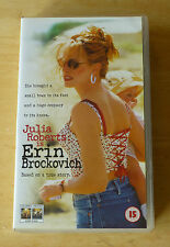 Julia Roberts is Erin Brockovich Video VHS PAL - Excellent Condition
