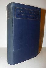 Musica Arte Storia Prosa Memorie, Prose di Giosuè Carducci 1906 Zanichelli 2a ed