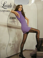 COLLANT CALZA DONNA WOMAN LEVANTE ART.E006 T.3/4 COL.NERO - 40 DEN 44 DTEX