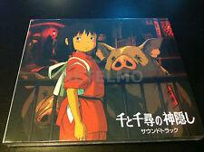 Miyazaki Hayao Ghibli Soundtrack Spirited Away Cd Miya Records Chihiro