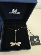 Collana ciondolo libellula Swarowski strass dragonfly