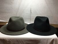 New with Tag Stetson Cromwell Crushable Men's  Wool Hat Made in U.S.A