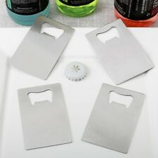60 Silver Credit Card Style Bottle Openers Wedding Shower Party Gift Favors