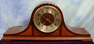 Vintage Revere Westminster Chime Telechron Motored Mantle Clock #903