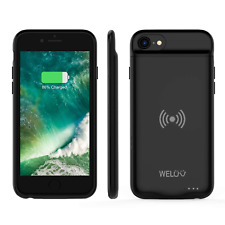 WELUV For iPhone 6 6s 7 8 Qi Battery Case Ultra thin Wireless Charging case case