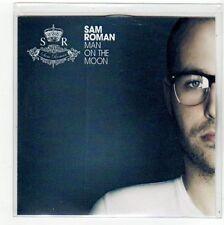 (FC395) Sam Roman, Man On The Moon (debut single) - 2011 DJ CD
