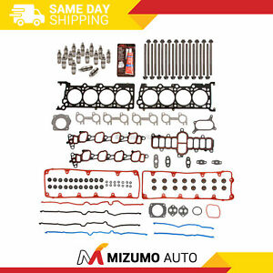 Head Gasket Set Bolts Lifters Fit 02-11 Ford Crown Victoria Lincoln Mercury 4.6