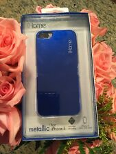 Brand New iHome Metallic blue case For iPhone 5 Retail $30