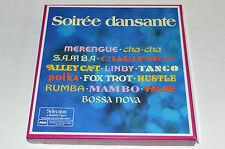 SOIREE DANSANTE Soirée 8-LP BOX SET Dance World Music MERENGUE CHA-CHA SAMBA
