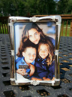 """Picture Frame Burnes of Boston 5"""" x 7"""" Home Decor Silver Vertical or Horizontal"""