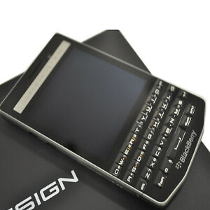 New BlackBerry Porsche Design P'9983 64GB Carbon Factory Unlocked English LTE/4G