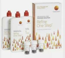 Coopervision Refine One Step (3 x 250ml) Contact Lens Solution was Sauflon Multi