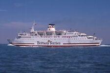 SL0227 - Brittany Ferries Ferry - Reine Mathilde - photograph 6x4