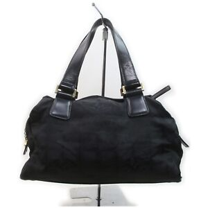 Chanel Tote Bag  Black Nylon 1902679