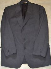 Size 41 Dark Gray Pinstripe Sport Coat Blazer Suit Jacket Brooks Brothers EUC