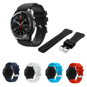 For Samsung Gear S3 Frontier/Classic 22mm Silicone Bracelet Strap Watch Band G