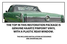 CHRYSLER IMPERIAL CONVERTIBLE TOP DO IT YOURSELF Pkg 1967-1968