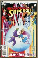 Supergirl Annual #2-2010 nm- 9.2 Amy Reeder Legion Of Super-Heroes