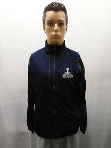 Antigua Super Bowl XLVIII 48 Blue Bud Light Official Sponsor Jacket M