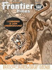 Frontier Times May 1967 Mountain Lion Battle Flat Bugbee Texas Hostile Indians