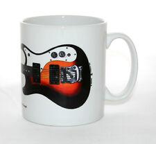 Guitar Mug. Kurt Cobain's Mosrite Gospel Guitar Illustration.