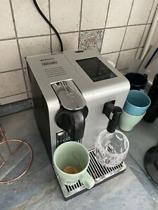 Nespresso Lattissima Pro DeLonghi EN750MB aluminium Kapselmaschine Gebraucht