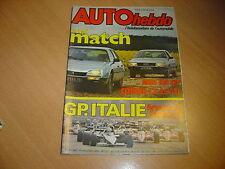 Auto hebdo N°386 BMW 745i.CX GTi/audi 100 CD.Gp d'Italie