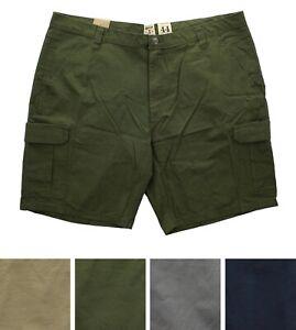 RedHead Men's Cargo Shorts Ripstop Cotton Hiking, Fishing, Camping 6-Pockets