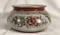 Dahl Jensen Royal Copenhagen Crackle Glaze Ware BOWL ART-DECO 18 cm DURCHMESSER