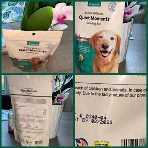 NaturVet Senior Dog Care Quiet Moments Calming Aid Stress Soft Chews 65 count🐶