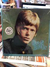 David Bowie Deram DE 16003 LP MONO Promo Sticker With Bellsound