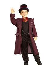 """Willy Wonka Kids Costume, Medium, Age 5 - 7, HEIGHT 4' 2"""" - 4' 6"""""""