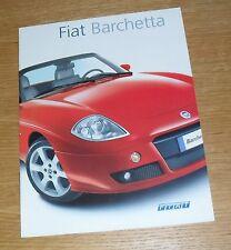FIAT BARCHETTA opuscolo 2004 - 1.8 16V