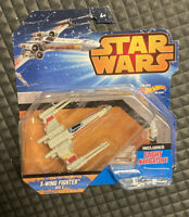 Star Wars Hot Wheels Starship X-Wing Fighter Red 3 Vehicle Die Cast Toy