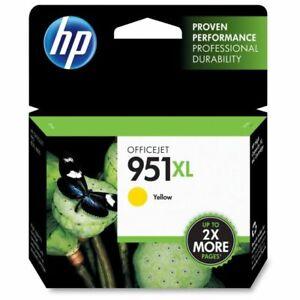 NEW Genuine HP 951XL Ink Cartridge, Yellow (CN048AN) OEM Exp. 2021