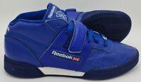 Reebok Vintage Mid Leather Deadstock Trainers Blue/White V59170 UK9.5/US10.5/E44
