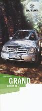 LISTINO prezzi SUZUKI GRAND VITARA XL 7 2004 prezzi auto PKW 9 04 Car Price List