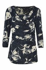 Polyester Stretch Singlepack Floral Tops & Shirts for Women