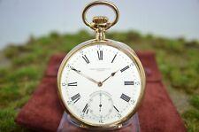 Patek Philippe Big Gondolo Chronometer Taschenuhr 18k Rosègold v. 1909, 22 Lines