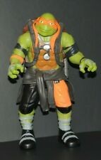 "2015 Michelangelo Ninja Turtles Paramount Playmates 10 1/2"" Movie Action Figure"