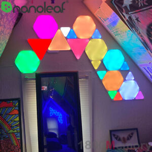 Nanoleaf Shapes LED Hexagon Triangle Expansion / Starter Kit 3 4 5 9 10 Pack