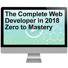The Complete Web Developer in 2018 Zero to Mastery Video Training