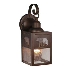Vaxcel Bozeman 5' Outdoor Wall Light BBZ (Bear) - OW35053BBZ