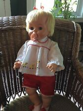 """Vintage 1965 Deluxe Reading """"Rare"""" Baby Boo Doll - Original & Works!"""