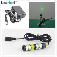 18*75mm 532nm 20mW-30mW Green Dot Laser Module Diode w/ 3vdc AC-DC Adapter